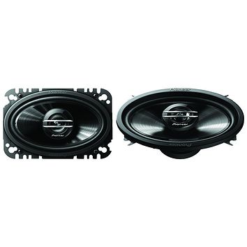 "Pioneer G-series 4"" X 6"" 200-watt 2-way Coaxial Speakers"