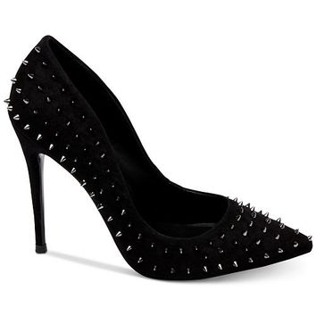Steve Madden Women's Daisie Spiked Pumps Shoes - Pumps - Macy's