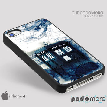 Tardis Smoke for iPhone 4/4S, iPhone 5/5S, iPhone 5c, iPhone 6, iPhone 6 Plus, iPod 4, iPod 5, Samsung Galaxy S3, Galaxy S4, Galaxy S5, Galaxy S6, Samsung Galaxy Note 3, Galaxy Note 4, Phone Case