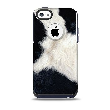 The Real Cowhide Texture Skin for the iPhone 5c OtterBox Commuter Case
