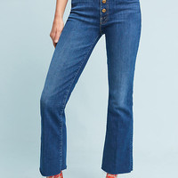 Mother The Hustler High-Rise Ankle Jeans