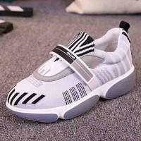 PRADA New fashion sports women shoes White