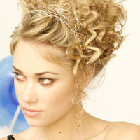 updos for short hair :  : wedding hairstyles