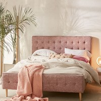Layla Upholstered Bed Frame | Urban Outfitters