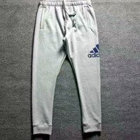 ADIDAS Thick leisure pants men's sport pants hight quality Black Grey