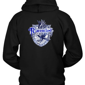 Harry Potter Ravenclaw Logo Hoodie Two Sided
