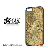 Vintage Old Retro World Map For Iphone 5 Iphone 5S Case Phone Case Gift Present