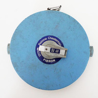 Vintage Rabone Chesterman Fibron 100Ft Tape Measure