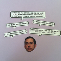 Michael Scott Quotes Sticker Set