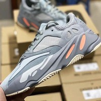Adidas Yeezy 700 Tide brand classic men and women wild retro running shoes 5#