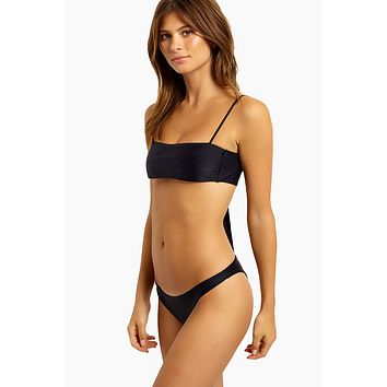 Brief Cheeky Bikini Bottom - Black