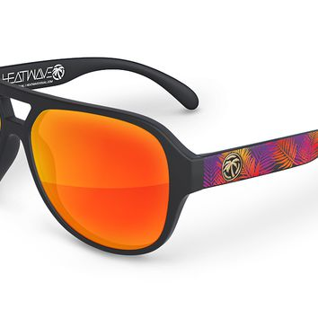 Supercat Sunglasses: Neon Palm Customs
