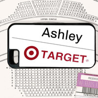 Ashley Name Badge Phone Case | Ashton's Target Badge Phone Case | Fan Made Case
