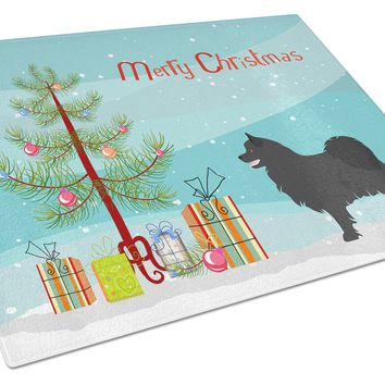 Swedish Lapphund Christmas Glass Cutting Board Large BB8509LCB