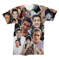 Austin Mahone Photo Collage T-shirt