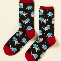 It Space Suits You Socks | Mod Retro Vintage Socks | ModCloth.com