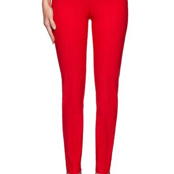 Luxe Stretch Pant Red