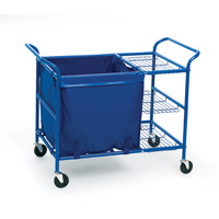 Angeles - Ball Cart Sturdy Steel Nylon Storage Bin