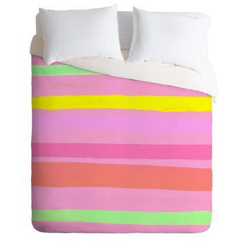 Rebecca Allen My Vacation Duvet Cover