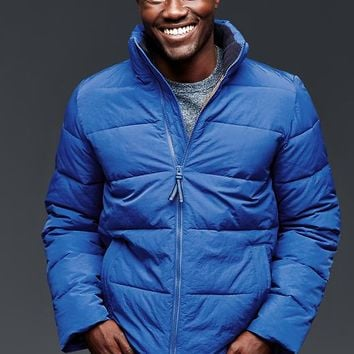 Gap Men Primaloft Quilted Puffer Jacket