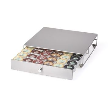 Keurig Approved Stainless Steel Rolling K-Cup Drawer - Walmart.com