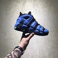 NIKE AIR MORE UPTEMPO BLACK BLUE