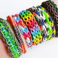 Loom Band Bracelet Pack - Rubber Band Bracelet - Loom Bands - Party Favors for Kids - Party Favors - Loom Bracelet - Party Pack #1