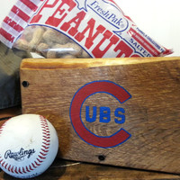 Chicago Cubs Wooden Box