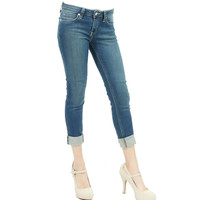 Oh so comfy ankle skinny jeans Medium blue