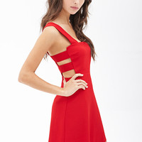 Square Neck Cutout Dress