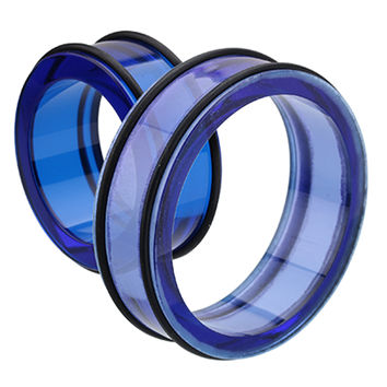 Supersize Acrylic No Flare Ear Gauge Tunnel Plug