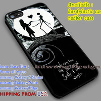 Eternal Couple | Nightmare Before Christmas | Jack & Sally | Quote iPhone 6s 6 6s+ 6plus Cases Samsung Galaxy s5 s6 Edge+ NOTE 5 4 3 #cartoon #disney #theNightmareBeforeChristmas dl2