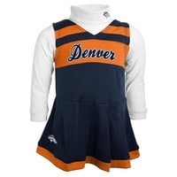 Denver Broncos Cheerleader Jumper Set - Baby, Size: