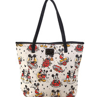 Loungefly Disney Mickey And Minnie Tattoo Tote