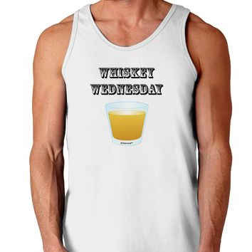 Whiskey Wednesday Design - Text Loose Tank Top  by TooLoud