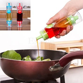 Handy Sauce Kitchen Tool Oil Soy Vinegar Condiment Bottle Spray Dispenser BBQ -Y102