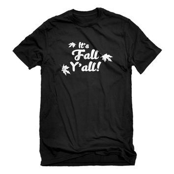 Mens It's Fall Y'all Unisex T-shirt