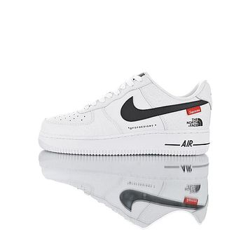 Supreme x The North Face x Nike Air Force 1 AF1 Low Sup TNF Sport Running Shoes