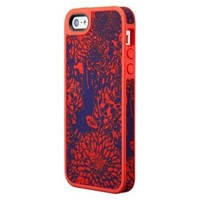 Speck FabShell Case for iPhone® 5 - Bouquet Burst Red