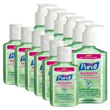 Purell Advanced Hand Sanitizer Refereshing Aloe - 2oz/6pk - 8oz/6pk