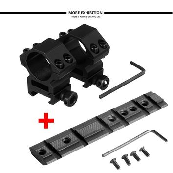 """Ruger 10/22 Mounting Kit - 1"""" Heavy Duty Rings & 10/22 Scope Base Mount"""