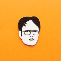 Dwight Schrute brooch