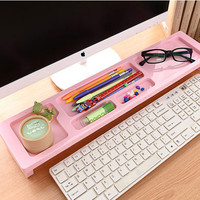 Long iDesk Sky Blue Multifunction Desktop Organizer MDO01