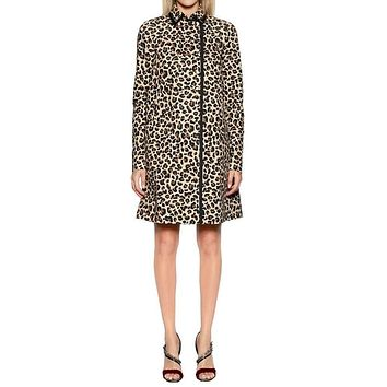 No. 21 Leopard Print Coat