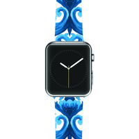 """Aimee St. Hill """"Intertwined Blue"""" Apple Watch Strap"""