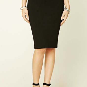 Crisscross Pencil Skirt