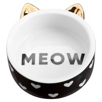 The Emily & Meritt Pet Bowl, Meow