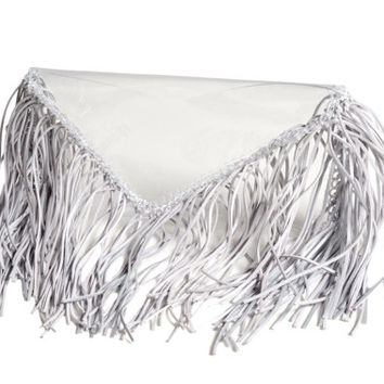 Clear purse transparent bag pouch fringe totes tassles envelope silver fringe bag boho bags clear clutch transparent waterproof tote tassels