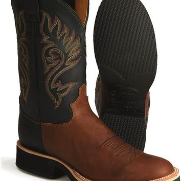 "Justin Men's 11"" Tekno Crepe Western Boots"
