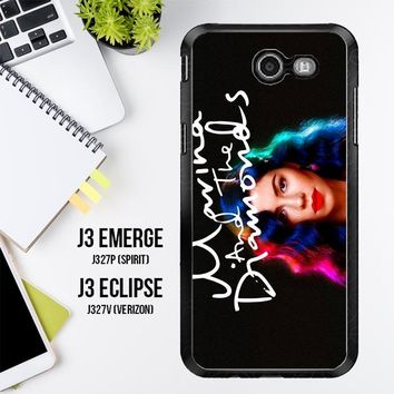 Marina And The Diamonds Z1529 Samsung Galaxy J3 Emerge, J3 Eclipse , Amp Prime 2, Express Prime 2 2017 SM J327 Case